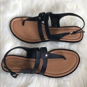 NEW Nine West black sandals
